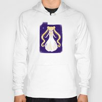sailor moon Hoodies featuring sailor moon by Erica_art