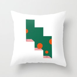 abstract06 Throw Pillow