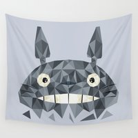 totes Wall Tapestries featuring Totes by D. A. M. Good Prints