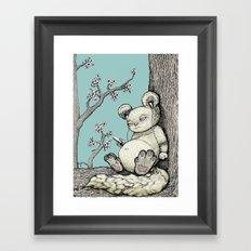 Cuddly Framed Art Print