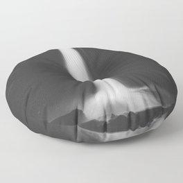 Hidden waterfall - Landscape and Nature Photography Floor Pillow