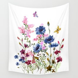 Wildflowers IV Wall Tapestry
