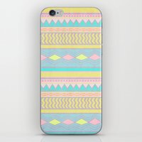 egyptian iPhone & iPod Skins featuring Egyptian II by Louise Machado