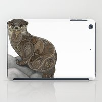 otter iPad Cases featuring Otter by ZHField