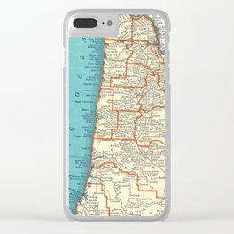 Oregon Coast Clear iPhone Case