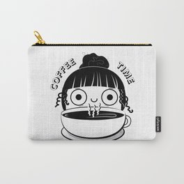 Coffee Girl Carry-All Pouch