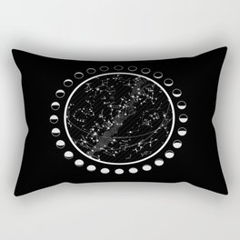 Vintage star map Rectangular Pillow