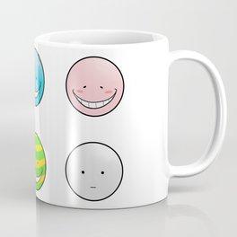Korosensei Emotions Coffee Mug