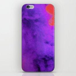 Ultra Violet Smoke Cloud (Color) iPhone Skin