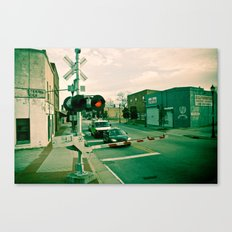 Railroads and State Lines Canvas Print