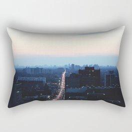 Bloor Street Lights Rectangular Pillow