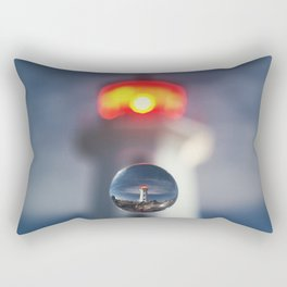 Drop of Glass Rectangular Pillow