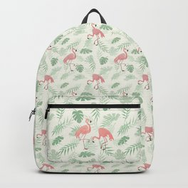 Flamingo Love Tropical Backpack