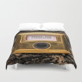 Champers Duvet Cover