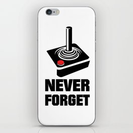 Never Forget Art iPhone Skin
