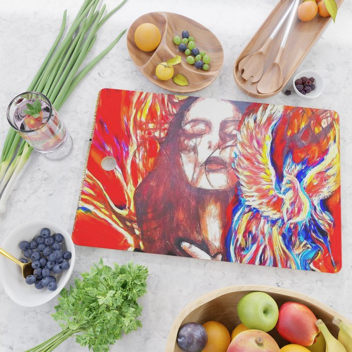Phoenix rise Cutting Board