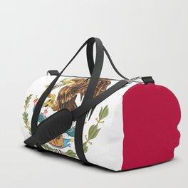 Mexico flag emblem Duffle Bag