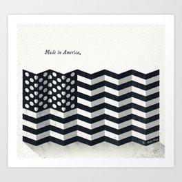 Made in America Art Print