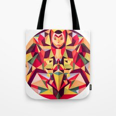 In the Middle of Something Tote Bag