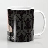 scandal Mugs featuring A Scandal in Belgravia - Molly Hooper by MacGuffin Designs