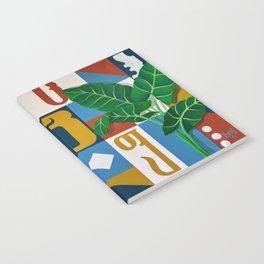 Geo Alphabet #1 Notebook