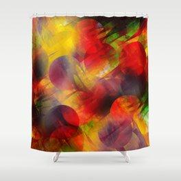 circle fader k2 Shower Curtain