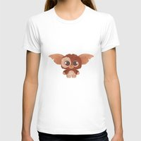 gizmo T-shirts featuring Gizmo by Ponchoart