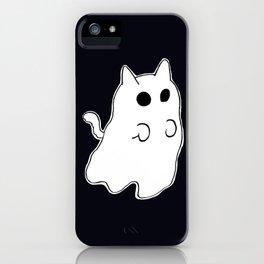 Ghost Cat iPhone Case
