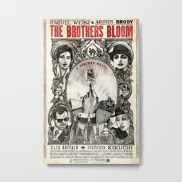 The Brothers Bloom Metal Print