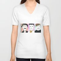 mod V-neck T-shirts featuring Mod by DestructionPischke