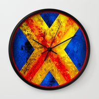 cyclops Wall Clocks featuring Cyclops by Some_Designs