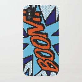 Comic Book BOOM! iPhone Case