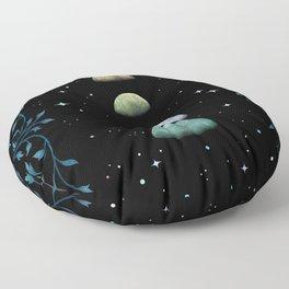 Moons of Jupiter Floor Pillow