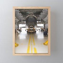 1455. Space shuttle Atlantis  Framed Mini Art Print