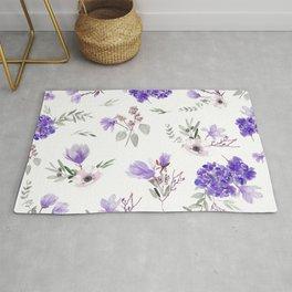 Violet pattern IIIl Rug