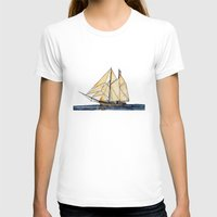 sail T-shirts featuring sail by The Traveling Catburys