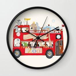 zoo lane Wall Clock