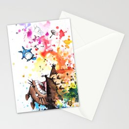 """""""Blown away"""" Stationery Cards"""