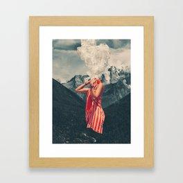 Overthinking Framed Art Print