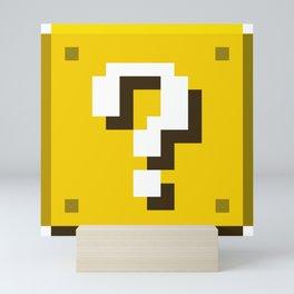 New Question Block Mini Art Print
