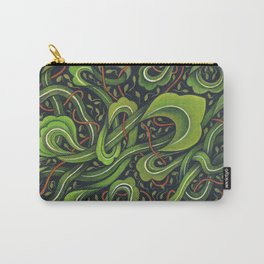 Asian Green Drapes Carry-All Pouch
