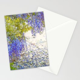 Summer Wisteria art. Stationery Cards