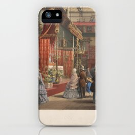 Mediaeval Court from the Great Exhibition of 1851,1851 iPhone Case