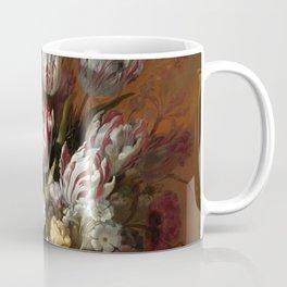 Still life with flowers - Hans Bollongier (1639) Coffee Mug