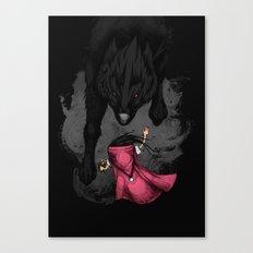 Big Bad Wolf Canvas Print