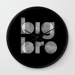 Big Bro Wall Clock