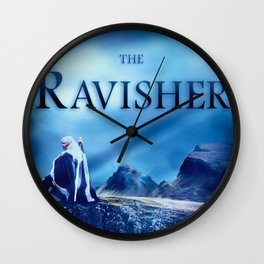 The Ravisher movie poster by Lacy Lambert Wall Clock