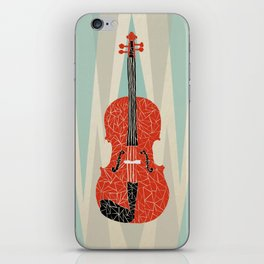The Red Violin iPhone Skin