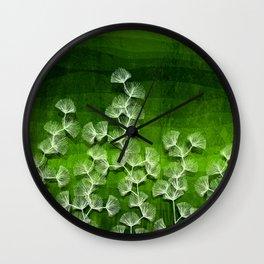 Fields of Green Wall Clock