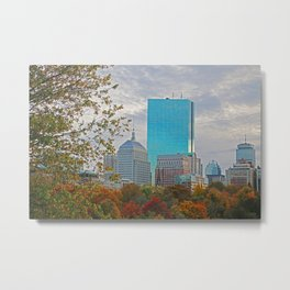 BOSTON STAND UP Metal Print